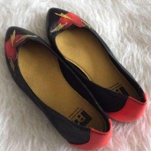 Flats - BC Footwear  heart valentines sz 6